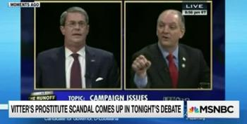 Edwards Rips Into Vitter At Louisiana Debate