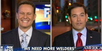 Fox's Kilmeade Tries To Reinforce Marco Rubio's Debunked Welders Claim