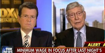 Cavuto Brings Parade Of CEO's On To Lie About The Minimum Wage