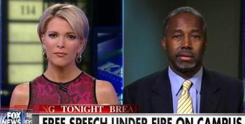 Megyn Kelly And Ben Carson Fear Monger About 'Angry Black Students' On College Campuses