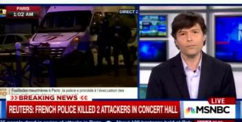MSNBC: 2 Attackers Dead At Concert Hall