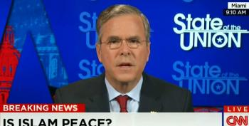 Jake Tapper Confronts Bush For Attacking Democrats Over Saying 'Radical Islam'