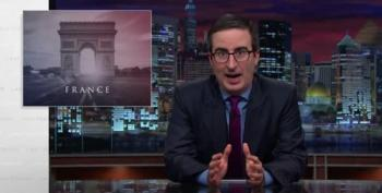 John Oliver's Wonderful Foul-Mouthed Tirade Against Paris Attackers