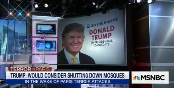 Trump Wants To Step Up Surveillance On Mosques In New York