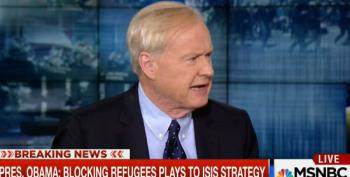 Chris Matthews Goes Off The Rails Again Over Syrian Refugees