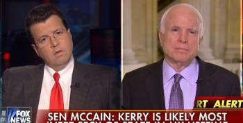 John McCain Has The Nerve To Call John Kerry 'Inept'