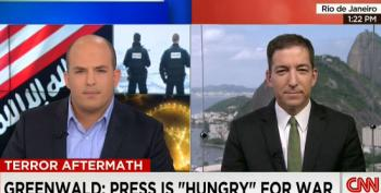 Greenwald Blasts CNN For 'Despicable' Anti-Muslim Comments And Push For More War
