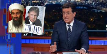 Stephen Colbert Gives Thanks For Donald Trump