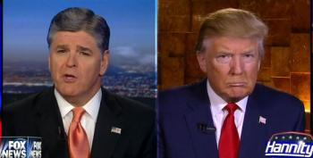 Hannity Should Be Fired From Fox News For Being A Presidential Advisor