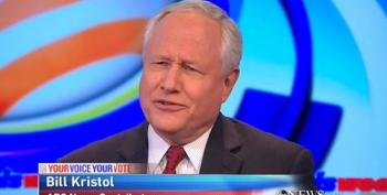 Bill Kristol Pretends Christie Has A Better Chance Of Winning GOP Nomination Than Trump