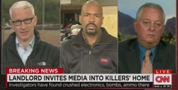 CNN Debates Bizarre Media Entry Into Attacker's Apartment