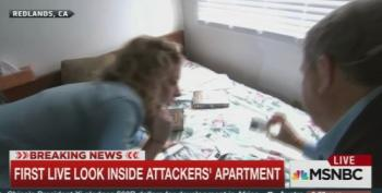 What The Hell Is NBC Doing Inside Attackers' Apartment?