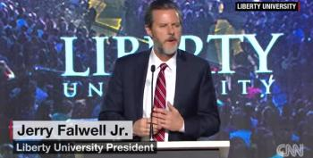 Jerry Falwell Jr. Tells Students 'Arm Yourselves' For When The Muslims Come