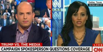 Trump Spox Triples Down On Muslims Cheering After 9-11 Lie While Attacking The Media