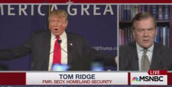 Tom Ridge: Trump Is 'An Embarrassment To The Country'