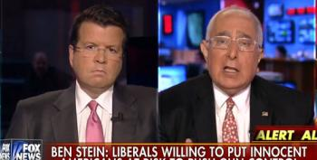 Fox's Ben Stein Fearmongers That Liberals Are Coming To Grab Everyone's Guns