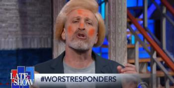 Jon Stewart Channels Trump On The Late Show
