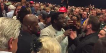 Trump Supporters Yell 'Sieg Heil!' And 'Light The Motherf*cker On Fire!' At BLM Protester