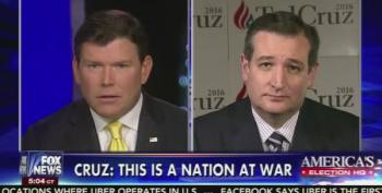 Fox News' Bret Baier Ties Ted Cruz In Knots Over His 2013 Immigration Stance