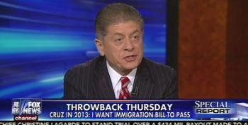 Judge Napolitano: Bret Baier 'Impeached' Ted Cruz's 'Credibility'
