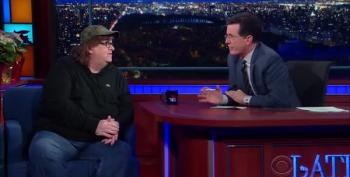 Michael Moore: A President Named 'Hussein' And Legal Weed Have Driven Conservatives Insane