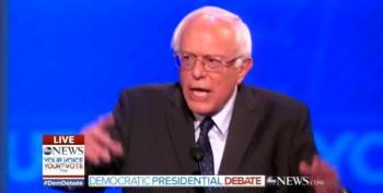 Bernie Sanders Ties Terrorism To Donald Trump's Hate Campaign