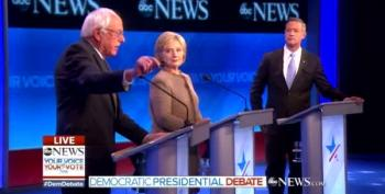 Sanders Tangles With O'Malley Over Gun Safety Laws
