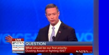 Martin O'Malley Booed For Ageist Comment Toward Other Dems