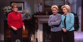 SNL: The Two Hillaries And Sarah Palin