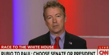 Rand Paul To Marco Rubio: 'Resign'