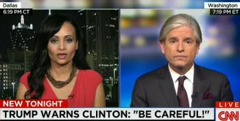 Trump Spox Defends His Sexist Remarks About Hillary Clinton
