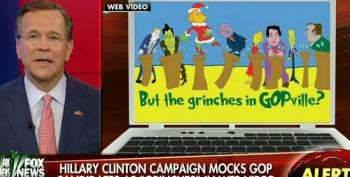 'Forbes On Fox' Crew Calls Clinton The Grinch For Attacking Trickle Down Economics
