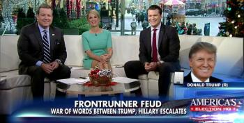 Trump Whines To Fox About Clinton 'Playing The Woman Card'