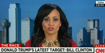 CNN Allows Trump Spokesperson To Appear On The Air Wearing Bullet Necklace