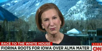 Fiorina Calls Pandering Tweet 'Tongue In Cheek'