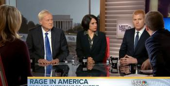 Meet The Press Panel Discuss Polling Showing Whites And Republicans Are Angriest Voters