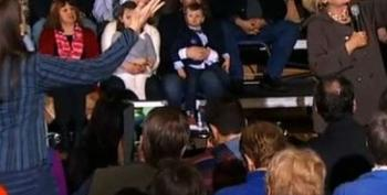 New Hampshire State Rep Heckles Hillary
