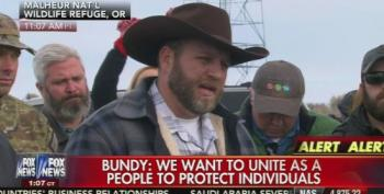 Ammon Bundy Holds A Convoluted Press Conference In Oregon