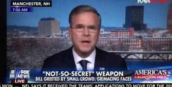 Jeb Says Brother George May Join His Campaign, Because 'He's Very Popular'