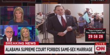BREAKING: Chief Justice Roy Moore Blocks Same Sex Marriage Licenses In Alabama
