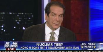 Charles Krauthammer Gives Obama 'A Pass' If North Korea Tested H-Bomb