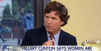Fox's Carlson Attacks Clinton For Supposedly Playing The Gender Card
