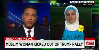 Trump Tramples Muslim Woman's First Amendment Rights