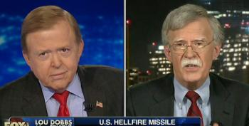 Dobbs And Bolton Demand Congressional Investigations Into Missing Hellfire Missile, Then Call Them Feckless