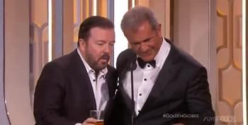 Ricky Gervais Asks Mel Gibson An Important Question