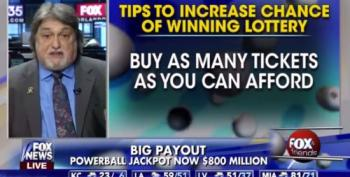 Fox Gives Advice For Winning At Powerball