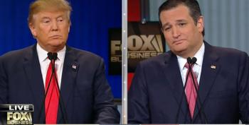 Cruz And Trump Fling Feces At Each Other Over Birther Question