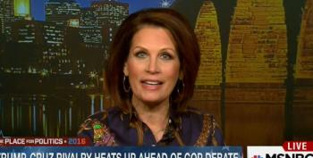 Michele Bachmann Fearmongers That Obama Will 'Give The Land' At Gitmo To Cuba