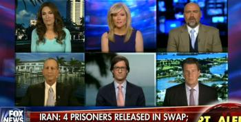 Fox Runs Prerecorded Show Demanding More Iranian Sanctions As News Of Prisoner Release Breaks