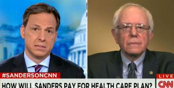 Bernie Sanders Addresses Clinton's Attacks On His Health Care Plan